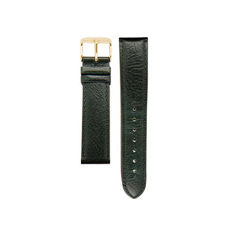 Army Green Band Gold Buckle