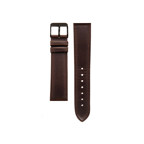 Brown Band Black Buckle