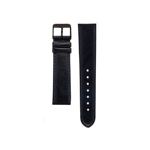 Navy Band Black Buckle