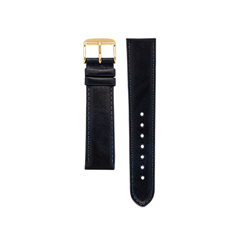 Navy Band Gold Buckle