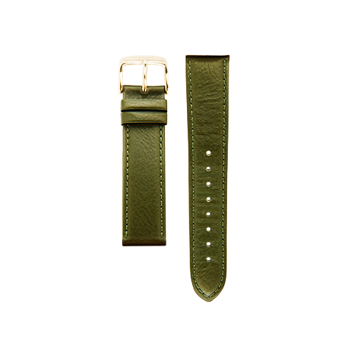 Olive Band Gold Buckle