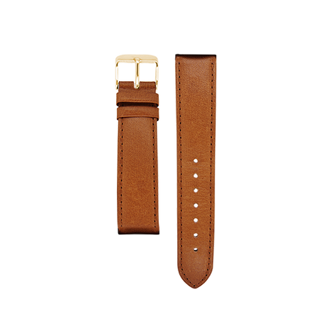 Tan Band Gold Buckle