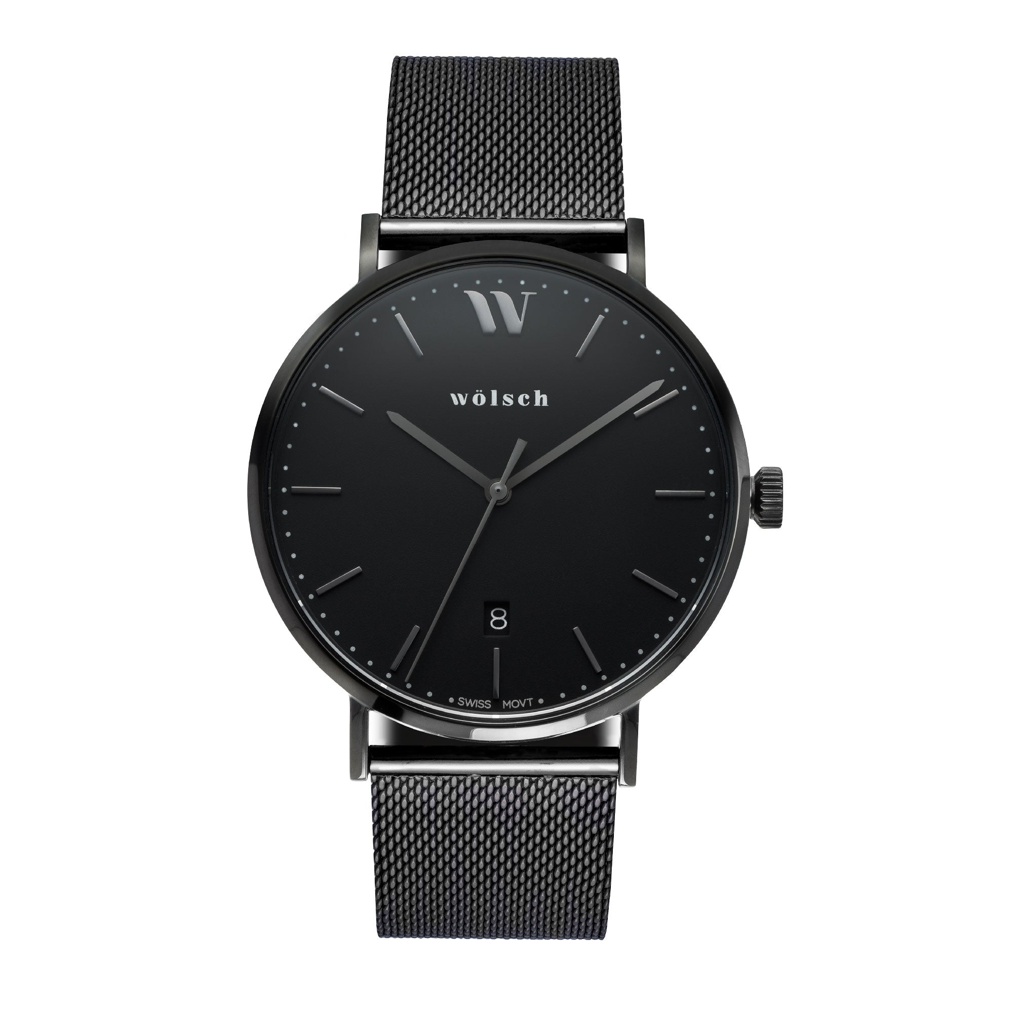 crystal stainless steel multifunction watches anita watch metal womens skagen mesh