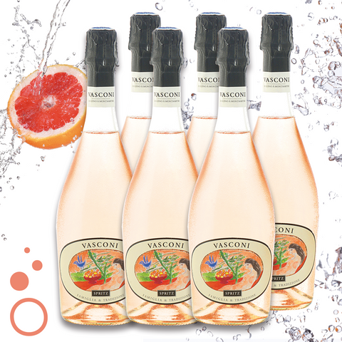 VASCONI - Pomelo Spritz - case of 6 bottles 75cl