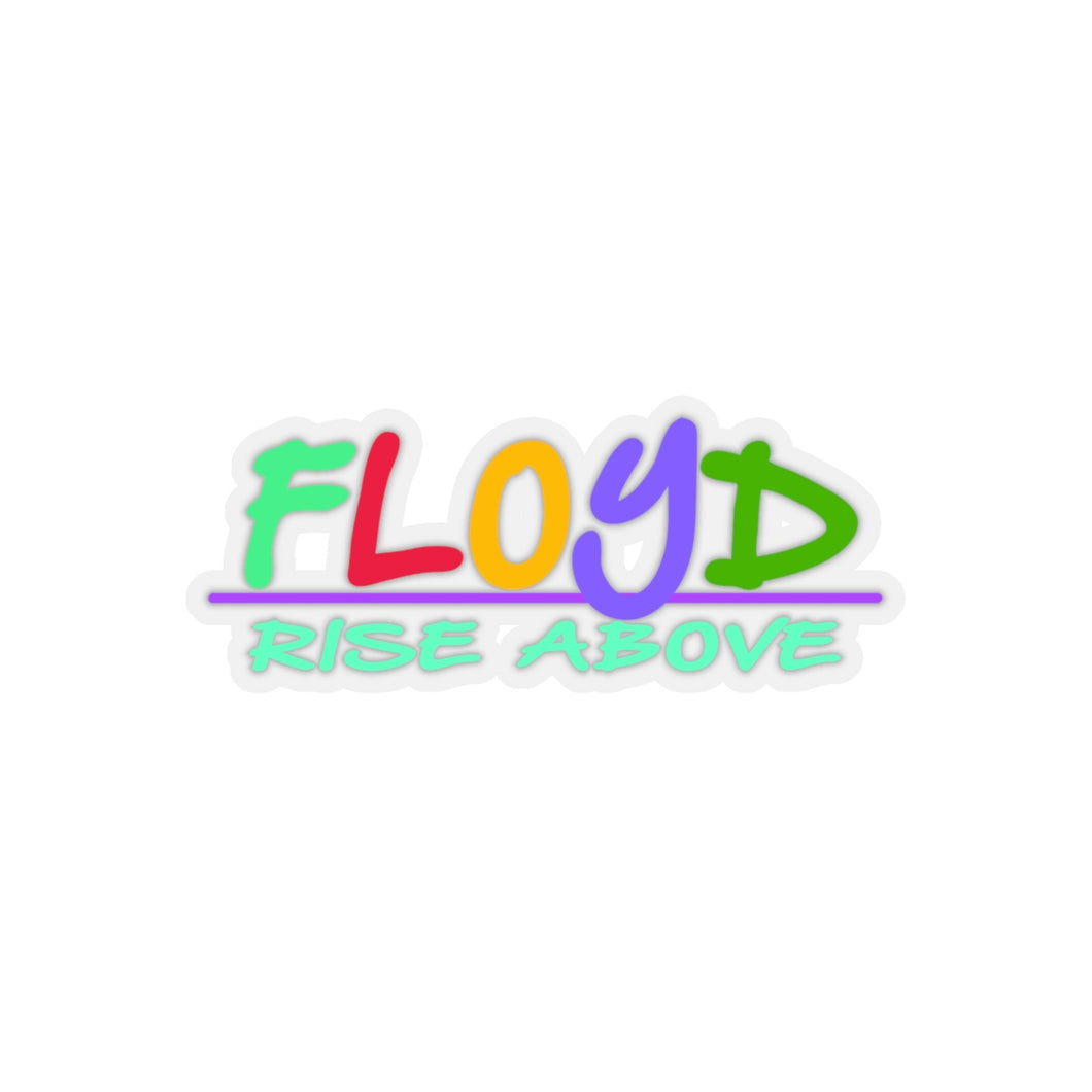 Floyd Toy Logo Sticker [Transparent or White Border]