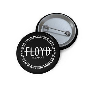 """Beyond"" Pin [Black]"