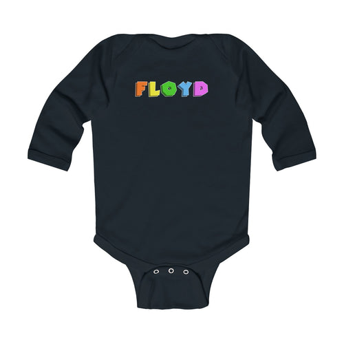 Toy Block Long Sleeve Infant Onesie [Multiple Colors]