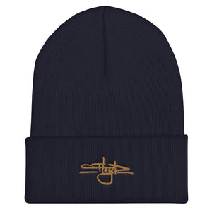 Signature Tag (w/Gold Embr.) Beanie