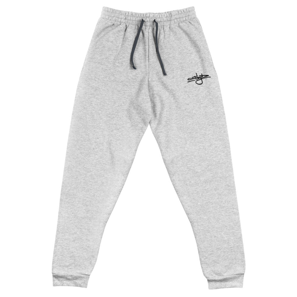 Floyd Tag Joggers [Black Embroidery/Gray]