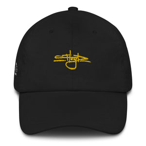 Gold & Black Dad Hat