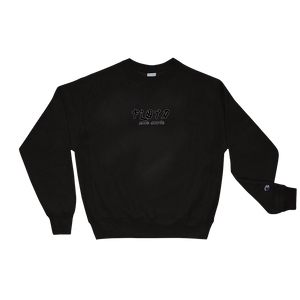 "Floyd X Champion ""Dynasty"" Crewneck [Black/Navy]"