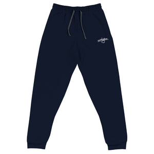 Floyd Tag Sweatpants [White Embroidery]