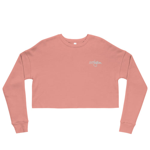 Floyd Tag Embroidered Women's Cropped Crewneck [Multiple Colors]