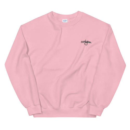 Floyd Tag Crewneck [Black Embroidery/Multiple Colors]