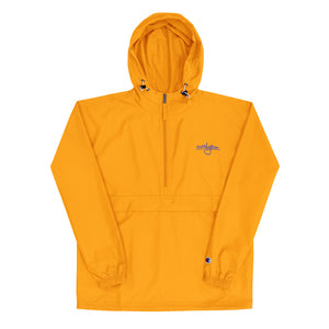 Limited Edition Floyd X Champion Packable Windbreaker [Purple/Gold]