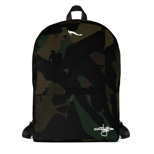 Dark Camo Tag Backpack