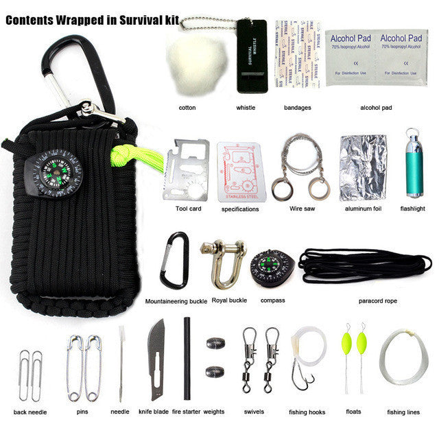 everyman.co.nz Black 29 IN 1 SURVIVAL GRENADE