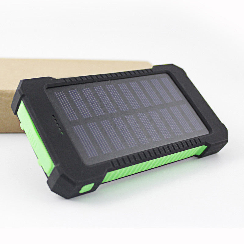everyman.co.nz RUGGED AND WATERPROOF SOLAR PANEL CHARGER