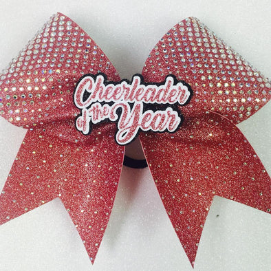 Customized Rhinestone Bow
