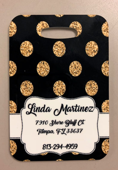Customized Luggage Tag with Address