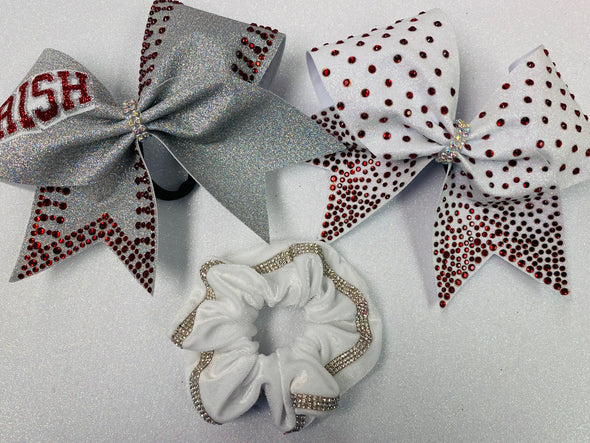 BAB School Package (2 Bows + Scrunchie)