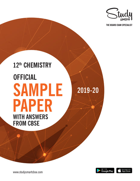Class 12th Chemistry Official Sample Paper With Answers from CBSE for 2019-20
