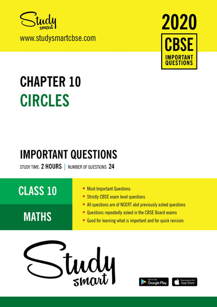 Class 10 Maths Chapter 10 Circles Most Importnat Questions