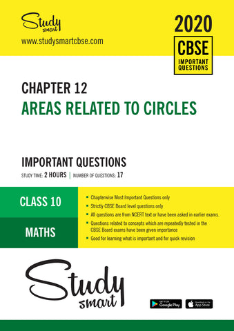 Class 10 Maths Chapter 12 Areas related to circles Most Important Questions