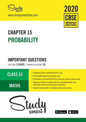 Class 10 Maths Chapter 15 Probability Most Important Questions