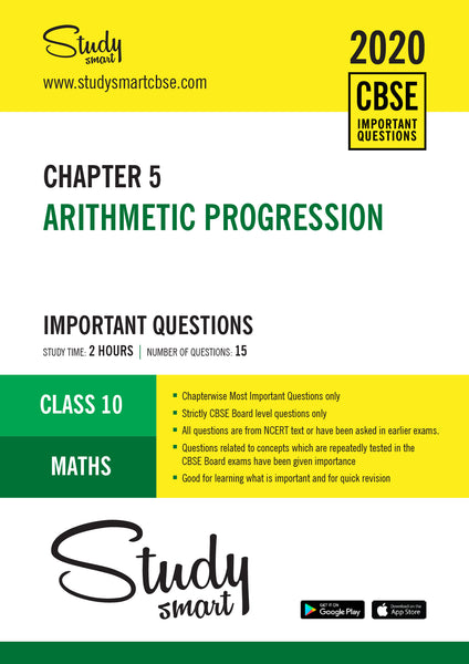 Class 10 Maths Chapter 5 Arithmetic Progression