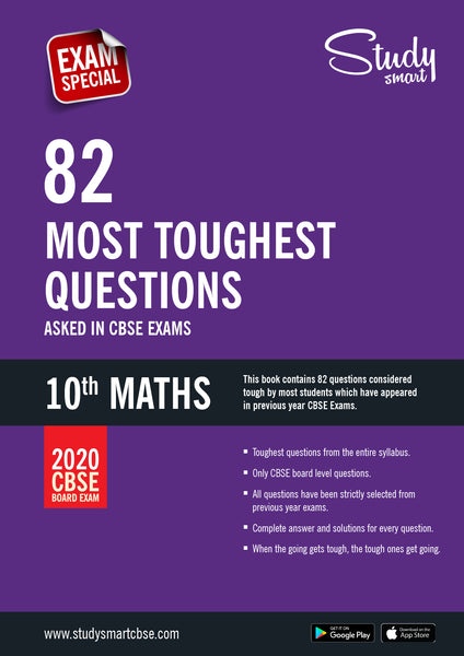 Class 10 Maths Most Toughest Questions in CBSE Exams