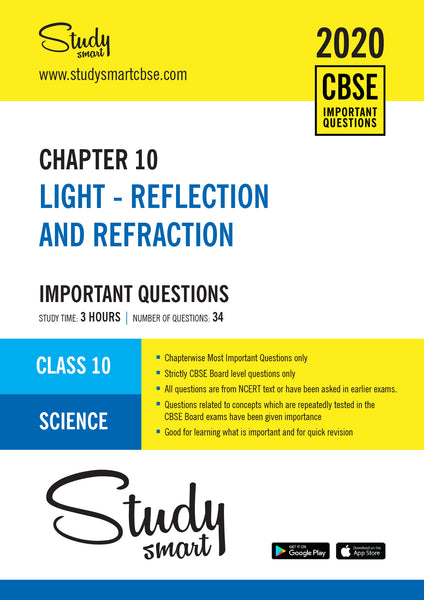 Class 10 Science Chapter 10 Light Reflection and Refraction Most Importnat Questions