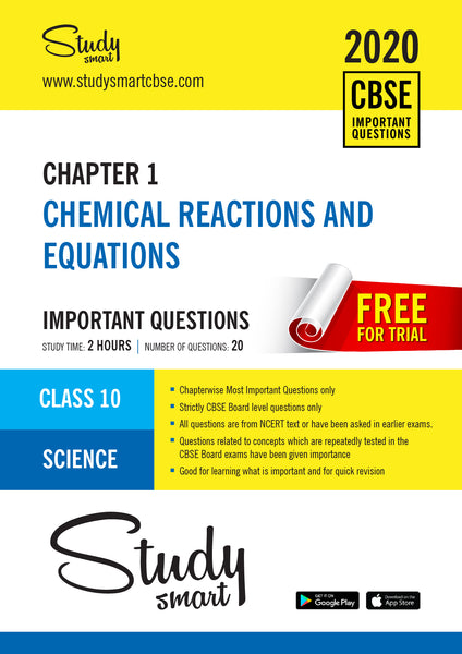 Class 10 Science Chapter 1 Chemical Reactions and Equations Most Important Questions