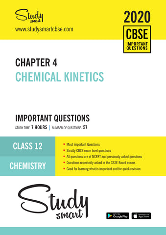 Class 12 Chemistry Chapter 4 Chemical Kinetics Most Important Questions