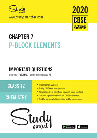 Class 12 Chemistry Chapter 7 p-Block Elements Most Important Questions