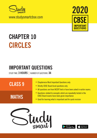 Class 9 Maths Chapter 10 Circles Most Important Questions