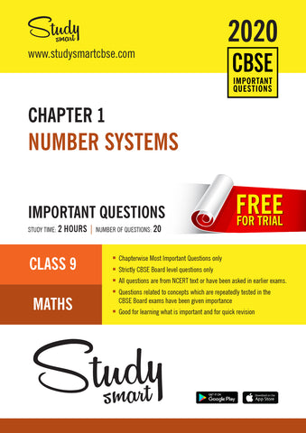 Class 9 Maths Chapter 1 Number Systems Most Important Questions