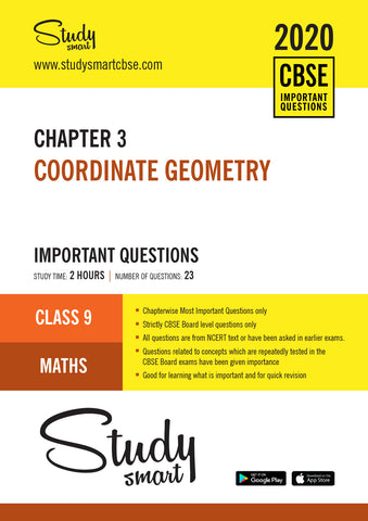 Class 9 Maths Chapter 3 Coordinate Geometry Most Important Questions