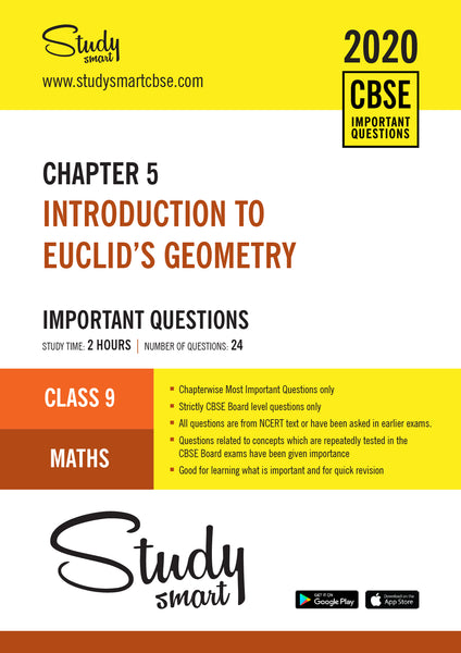 Class 9 Maths Chapter 5 Introduction to Euclid's Geometry Important Questions