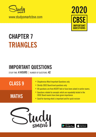 Class 9 Maths Chapter 7 Triangles Most Important Questions