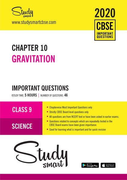 Class 9 Science Chapter 10 Gravitation Most Important Questions