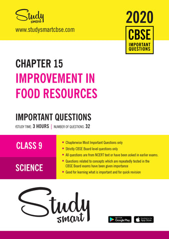 Class 9 Science Chapter 15 Improvement in Food Resources Most Important Questions