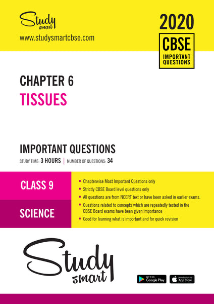 Class 9 Science Chapter 6 Tissues Most Important Questions