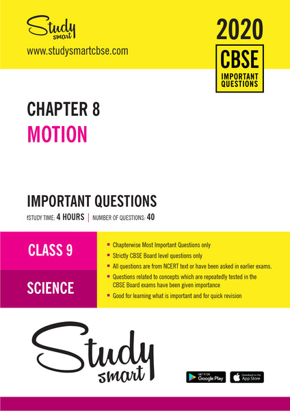 Class 9 Science Chapter 8 Motion Most Important Questions