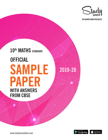 Class 10th Maths Standard Official Sample Paper With Answers from CBSE for 2019-20