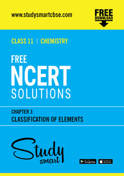 03. Classification of Elements