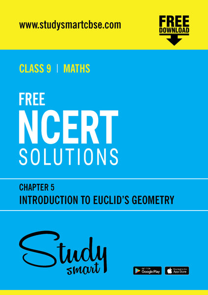 05  Introduction to Euclid's Geometry | STUDY SMART CBSE