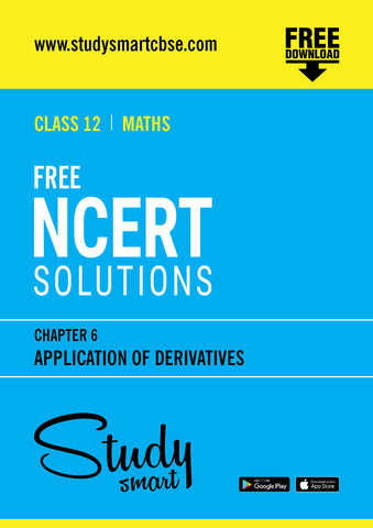 06. Application of Derivatives
