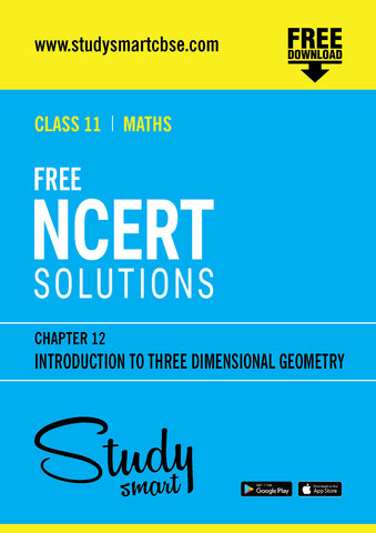 12. Introduction to Three Dimensional Geometry