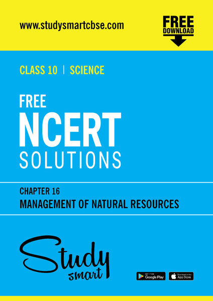 16. Management of Natural Resources
